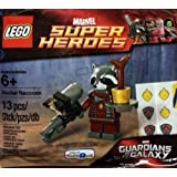 LEGO Marvel Guardians of the Galaxy Marvel Super Heroes Minifigure Set #5002145 Rocket Raccoon