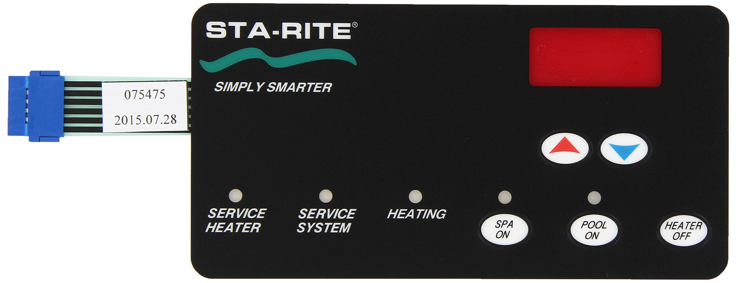 Pentair 42002-0029Z Switch Membrane Replacement Sta-Rite Max-E-Therm Pool and Spa Heater Electrical Systems by Pentair