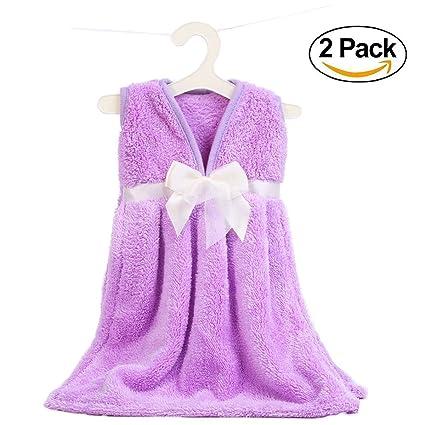 ukey toalla de mano colgante toallas de secado de microfibra Super absorbente de mano para cocina