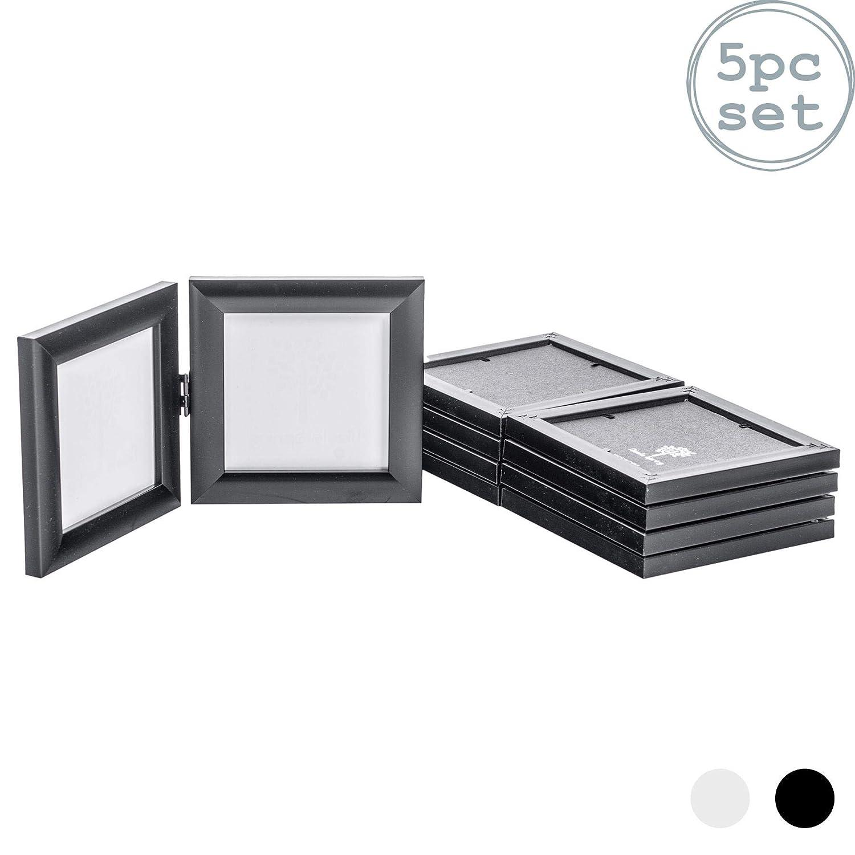 Nicola Spring Marco Doble Plegable para Fotos de 10 x 10 cm - con ...