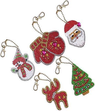 Porte-cl/és Pendentif de Croix Cr/éatif Cadeau D/écoration