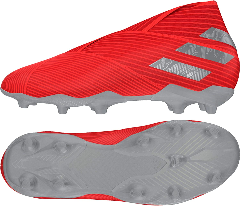 adidas Kinder Sohle Nemeziz 19+ FG J Kids Rot Silber F99958