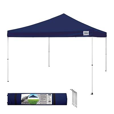 Caravan Canopy Sports 21208100060 Caravan M-Series 2 Pro 12 X 12 Foot Straight Leg Kit, Navy Blue Instant Canopy, 12x12 : Garden & Outdoor