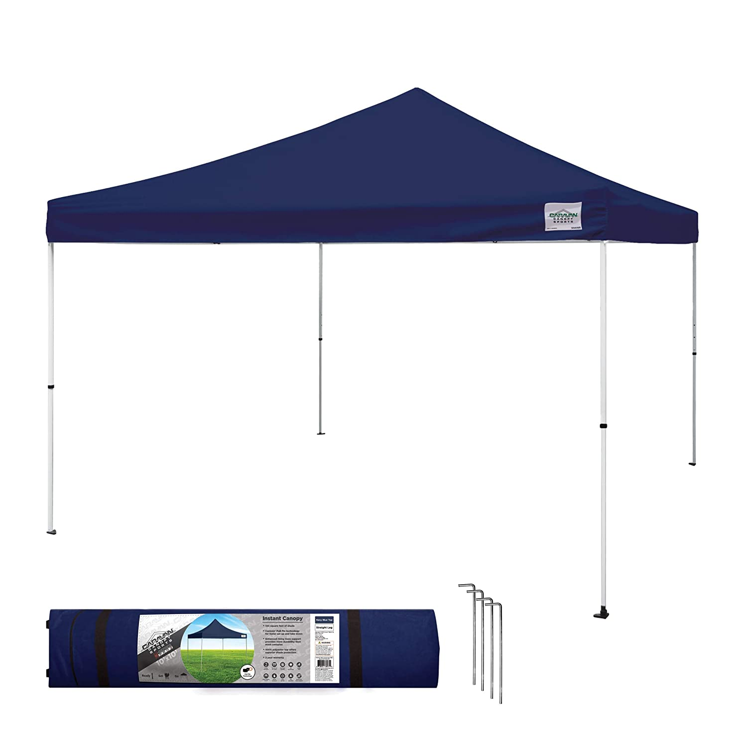 Amazon.com  Caravan Canopy M-Series 2 Pro 12 X 12 Foot Straight Leg Canopy Kit Navy Blue  Garden u0026 Outdoor  sc 1 st  Amazon.com & Amazon.com : Caravan Canopy M-Series 2 Pro 12 X 12 Foot Straight Leg ...