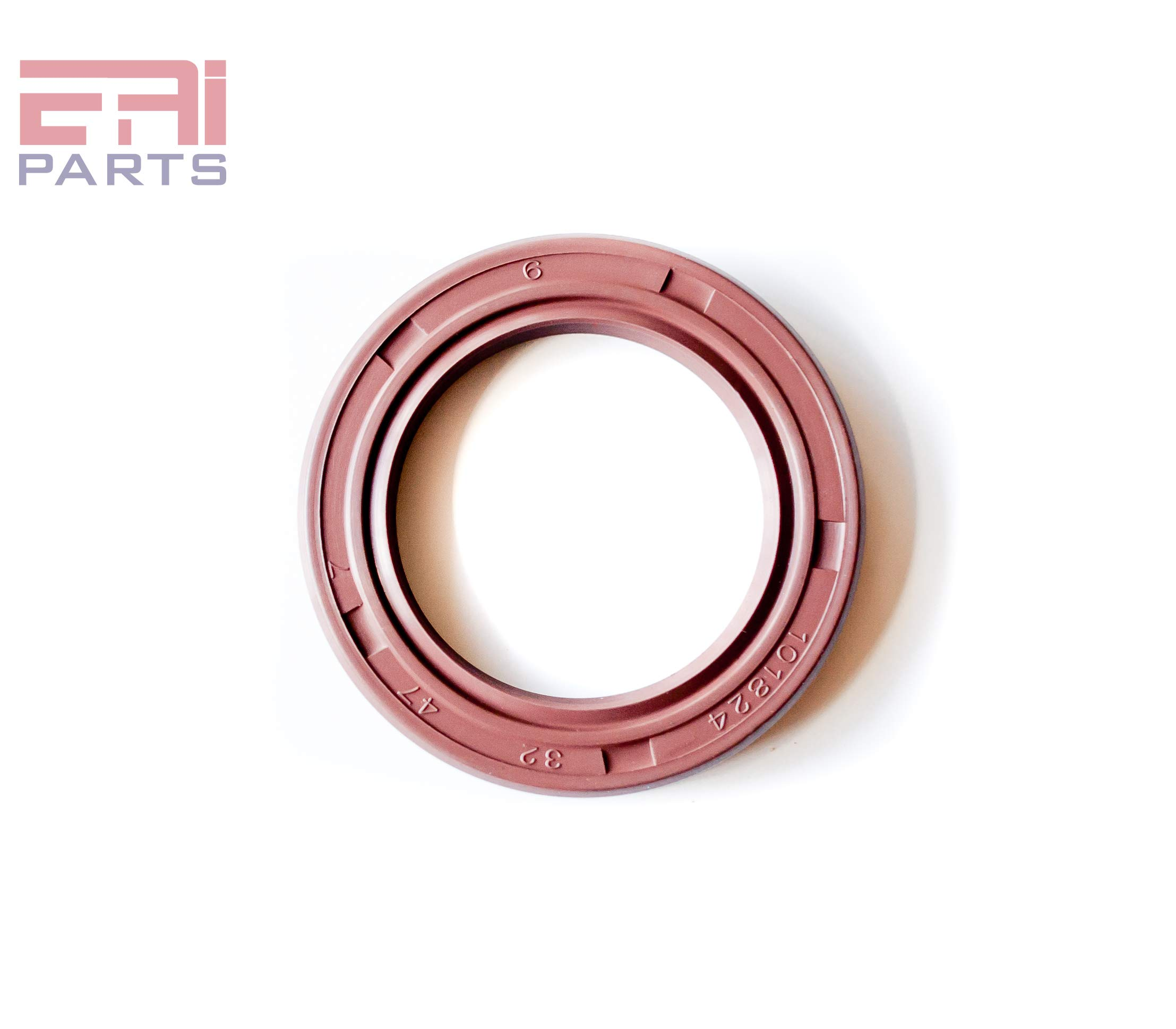 Oil Seal 1.500''x2.250''x0.313'' (10 PCS) Viton Oil Seal Grease Seal TC |EAI Rubber Double Lip w/Garter Spring. 1 1/2''x2 1/4''x5/16'' | 38.1mmX57.15mmX7.95mm by EAI (Image #2)