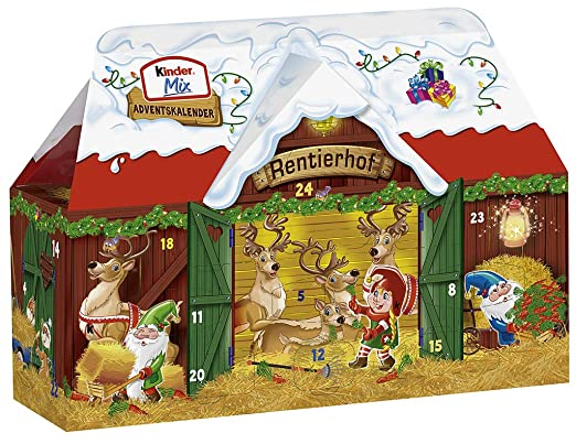 Kinder mix adventskalender