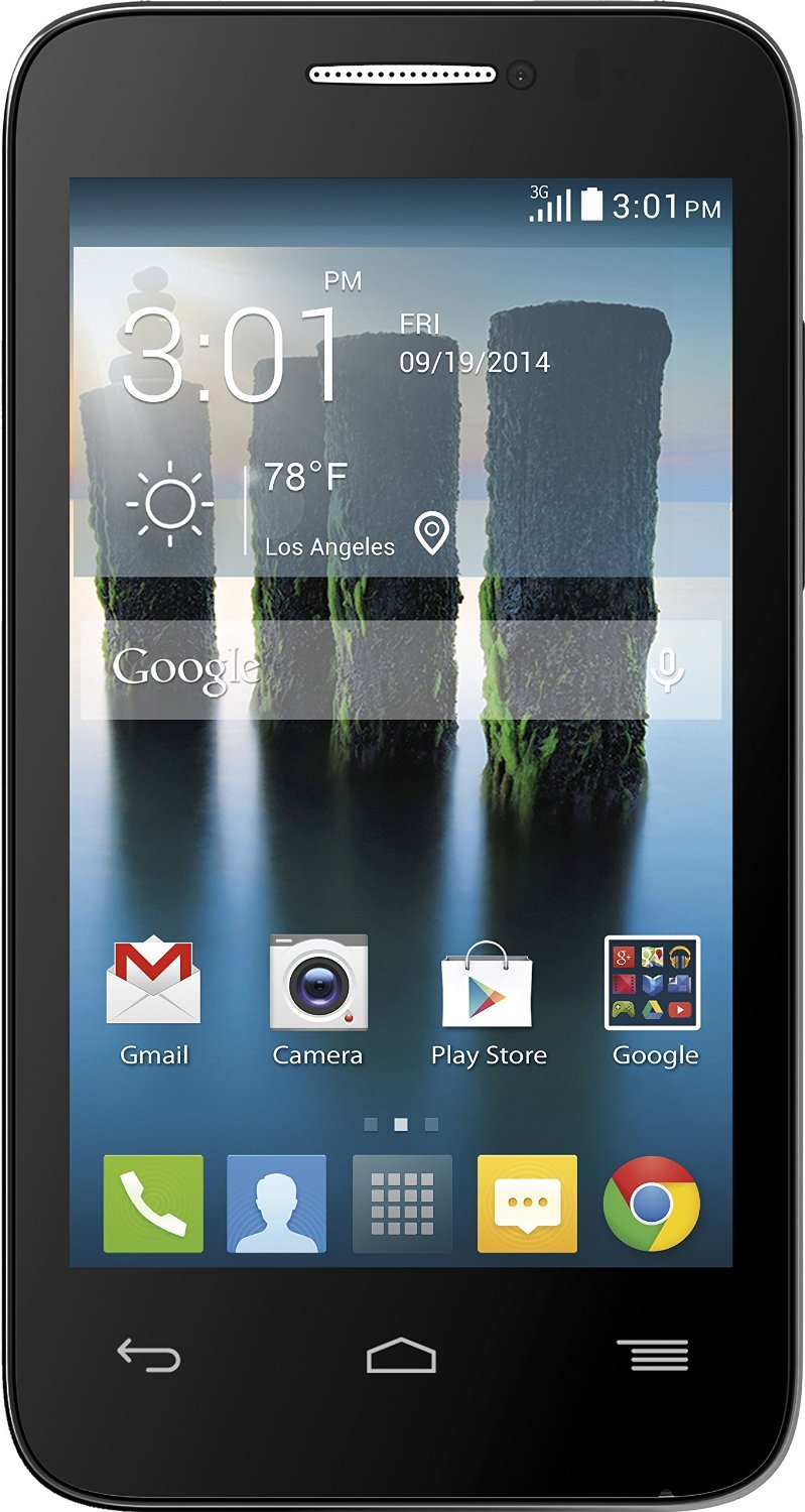 Alcatel One Touch Evolve 2 Black GSM International Unlocked Android Smartphone- No Contract (Unlocked) Any GSM network WORLDWIDE !! by Alcatel One Touch (Image #1)