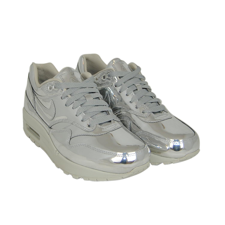 Nike Womens Air Max 1 SP Liquid Silver Trainers 4 UK 6.5 US