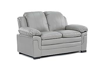 Amazon.com: Divano Roma Classic Bonded Leather Sofa and Loveseat ...