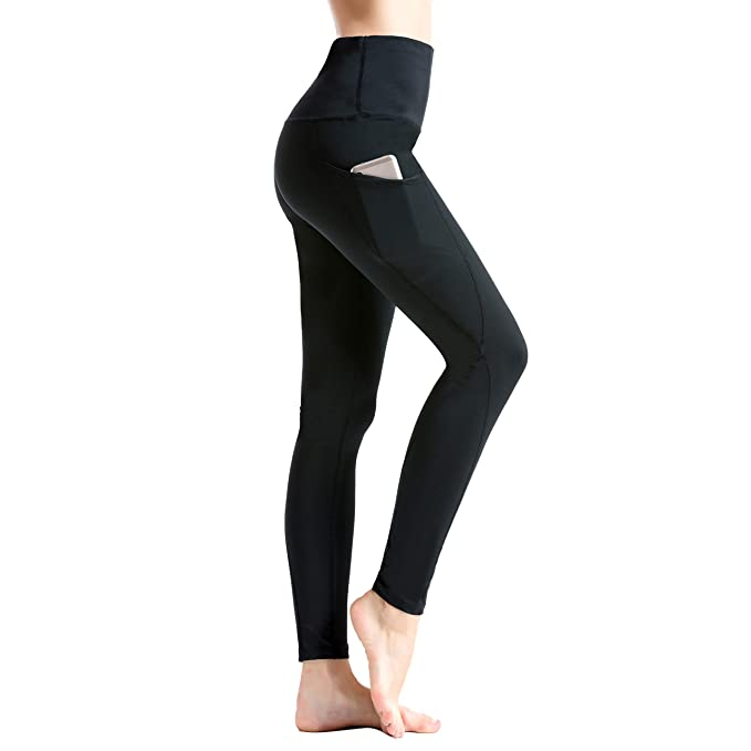 YR.Lover Mujer Slim Capris Running Fitness Leggings Yoga Pantalones