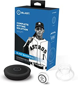 Blast Baseball Swing Trainer | Analyzes Swing | Tracks Metrics | Video Capture Creates Highlights | App Enabled, iOS and Android Compatible | Real Time Results
