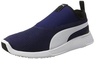 Puma Unisex-Erwachsene ST Trainer Evo v2 Slip on Sneaker, Blau (Blue Depths-White), 36 EU