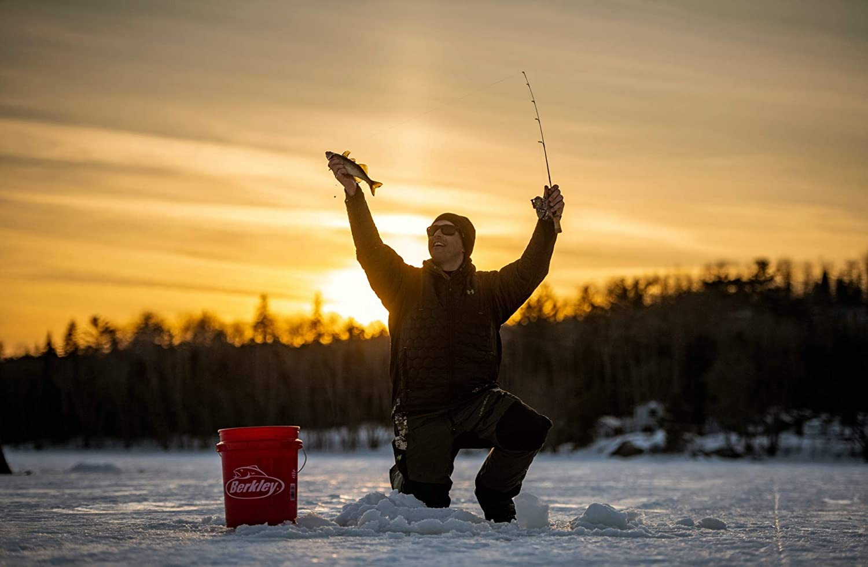 Trilene 100/% Fluorocarbon Ice Fishing Line