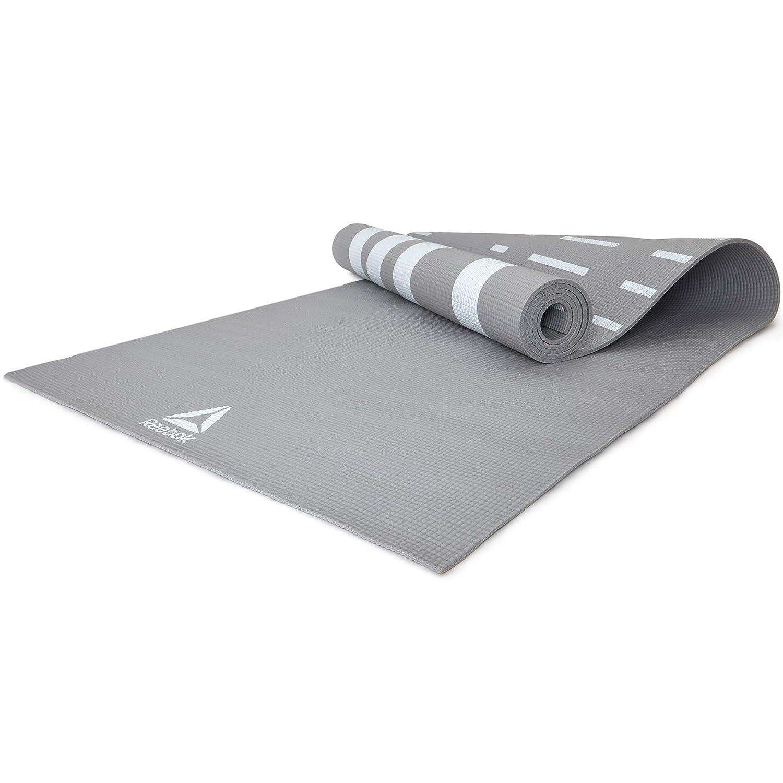 Reebok Estera de Yoga de Doble Cara - Gris