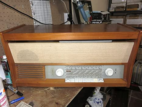 Antigua Radio Vintage Tocadiscos WEGA WEGAPHON 506 1961: Amazon.es ...