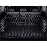 FHJBP Custom Fit Trunk Cover Mats Cargo Liner for 2016-2021 Mazda CX-5 Back Seats Splitted in 3 Parts - All Weather, 3D Laser
