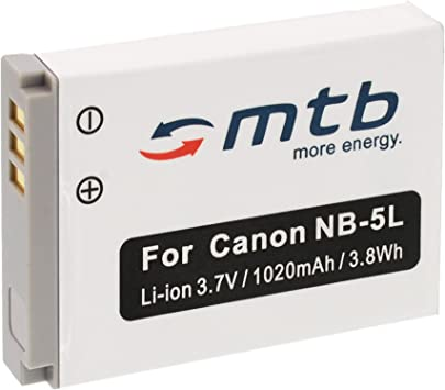 supporto di ricarica per Canon PowerShot sx230 HS BATTERIA