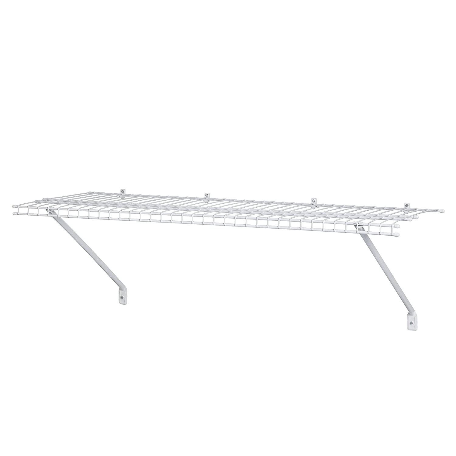 ClosetMaid 1031 Wire Shelf Kit, 3-Feet X 12-Inch, White