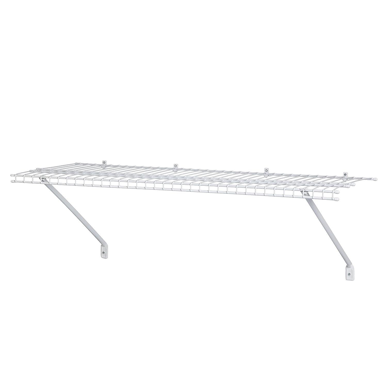ClosetMaid 51031 Wire Shelf Kit, 3-Feet, White