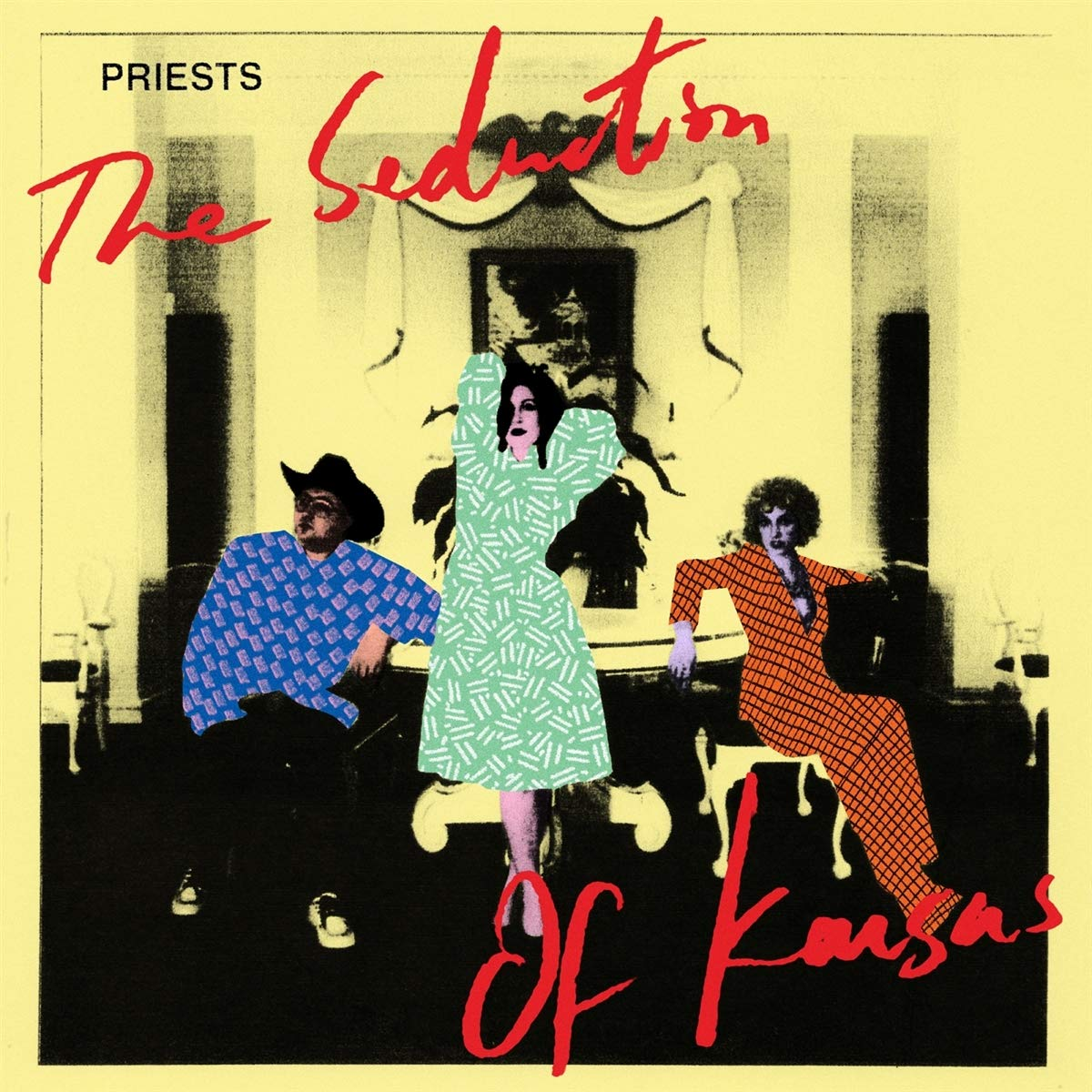 Vinilo : The Priests - The Seduction Of Kansas (pink Vinyl) (Pink)