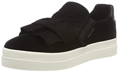 GANT Footwear Damen Amanda Slip on Sneaker, Schwarz (Black), 37 EU