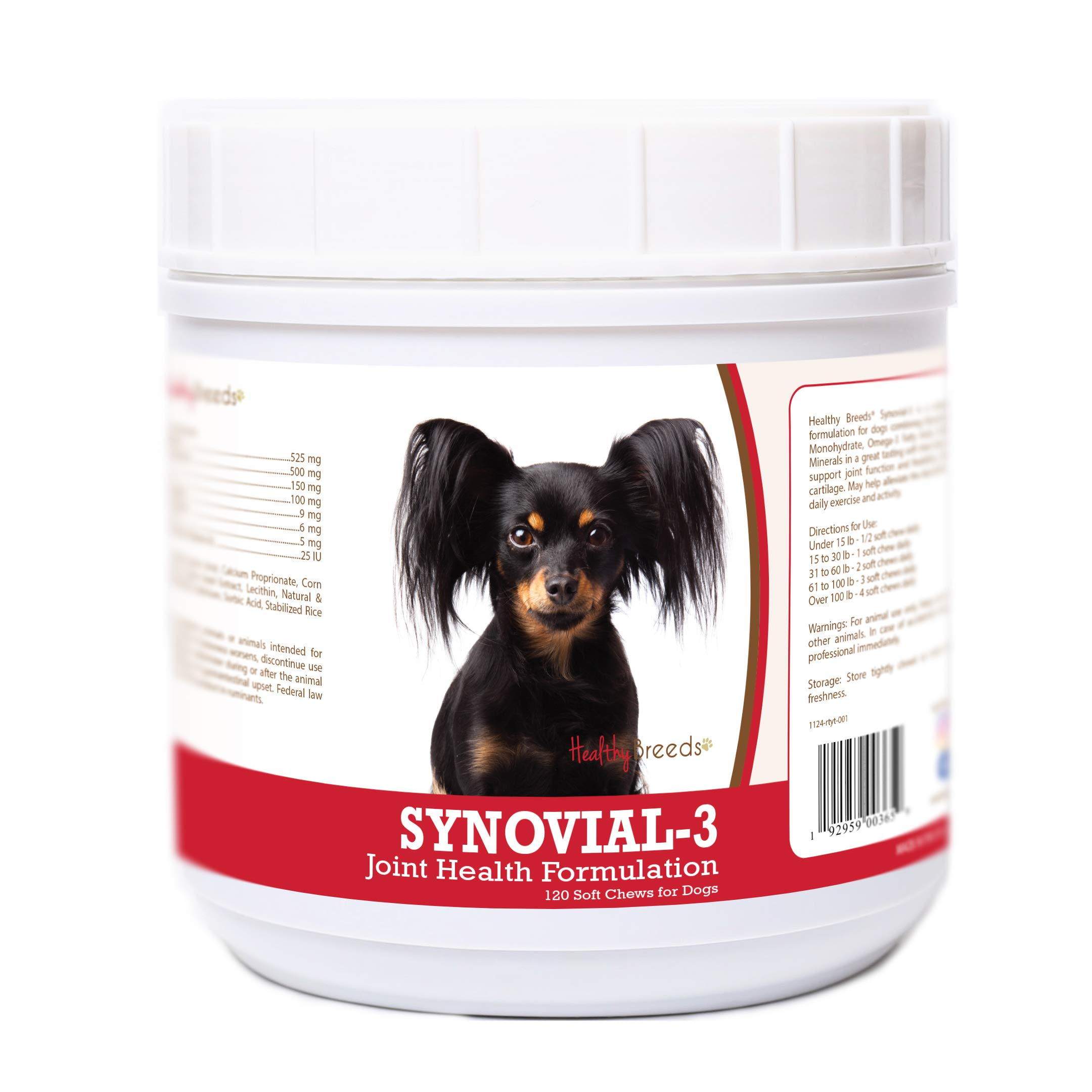 Healthy Breeds Russian Toy Terrier 120 Synovial-3 Joint Support