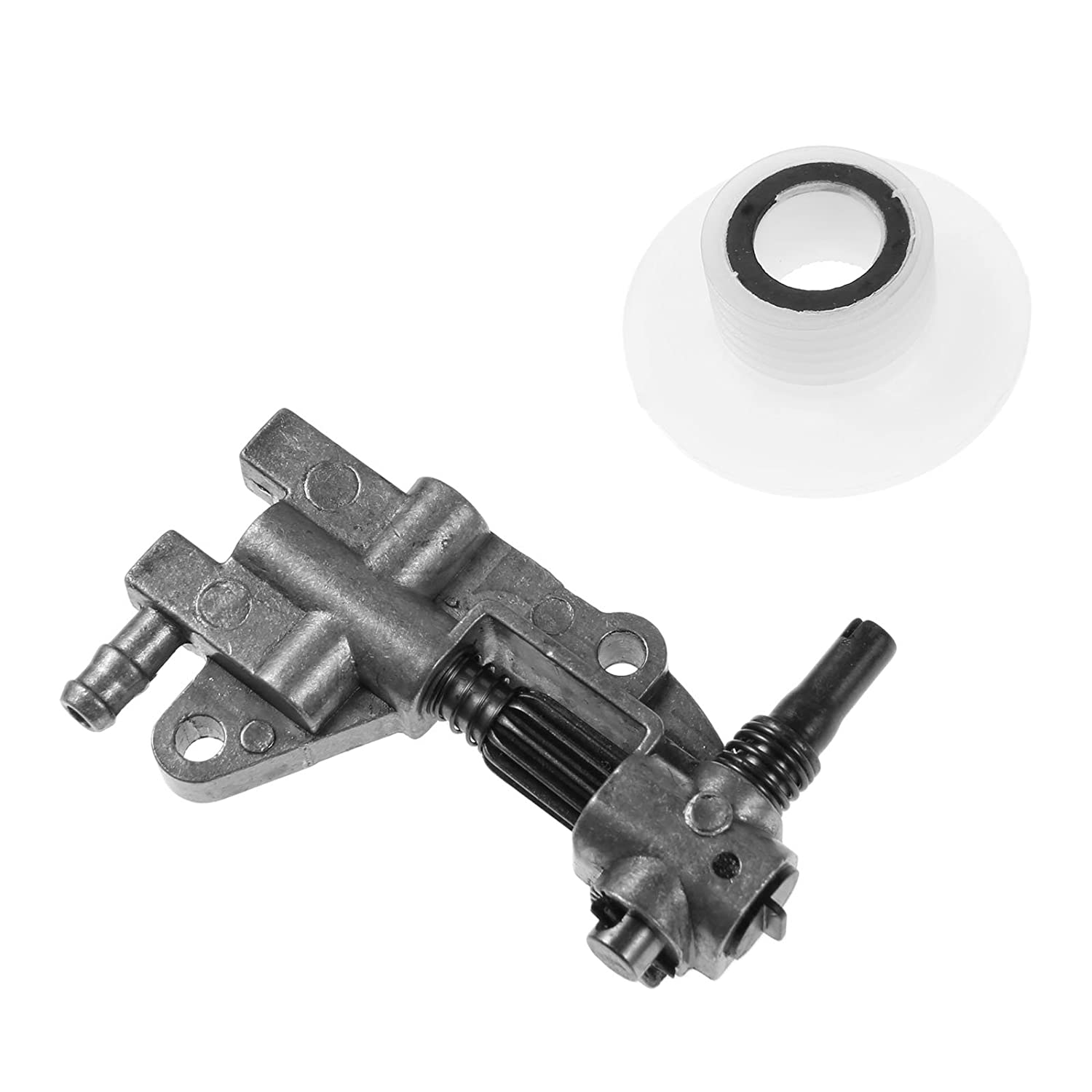 Oil Pump Replacement fit for Chinese Chainsaw 4500 5200 5800 45CC 52CC 58CC
