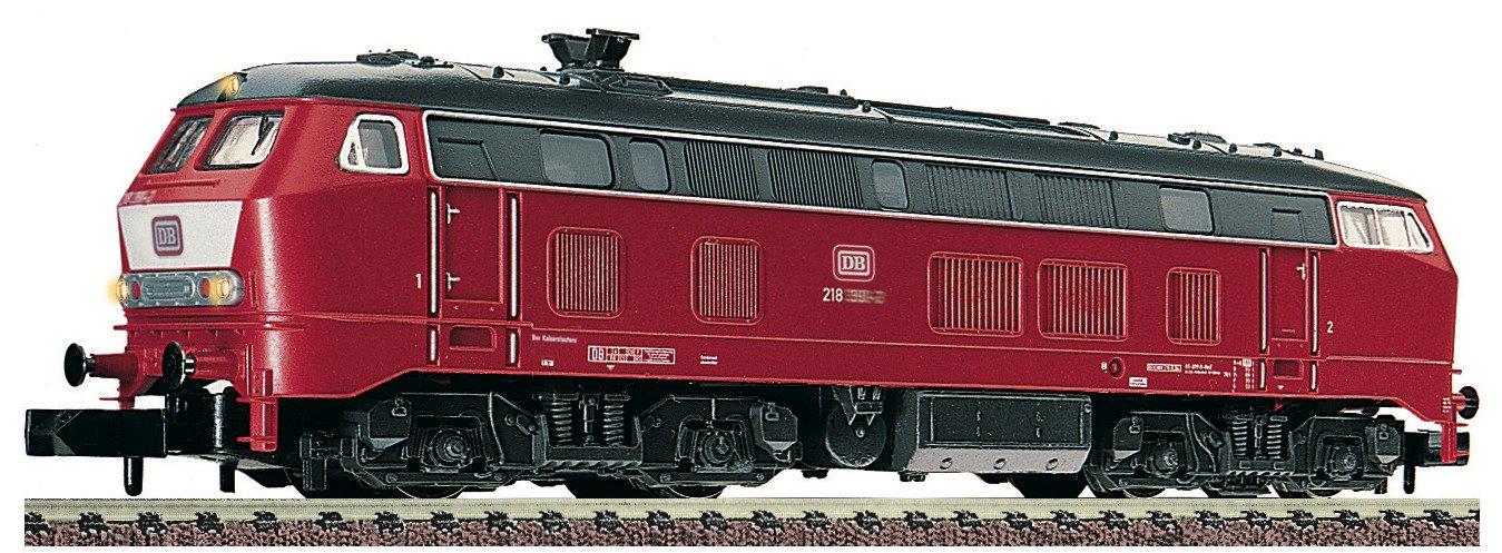 N FL Diesellok Br 218 DB Bild