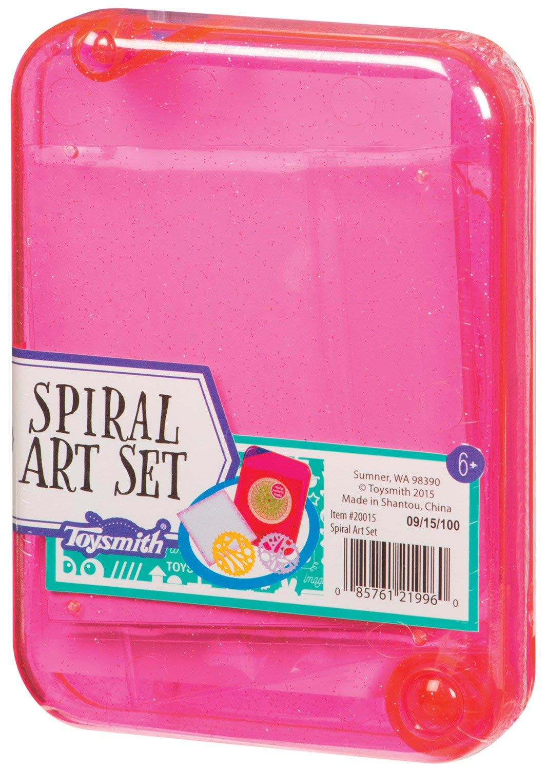 Great for Travel and Backpacks Stencil Art Kit and Spiral Art Set Toysmith Set of Two Travel Art Sets