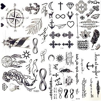 Tatuajes Temporales Little Gadgets Infinity Water Transfer Tattoo ...