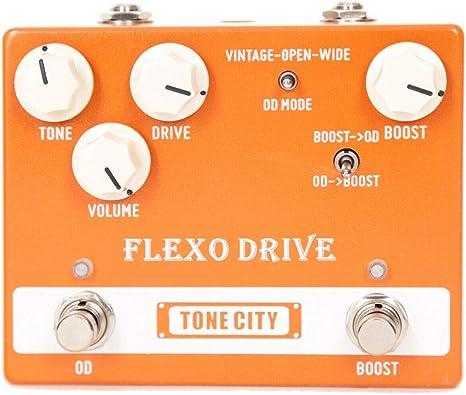 Tone City Flexo Drive - Pedal de efectos para guitarra eléctrica ...