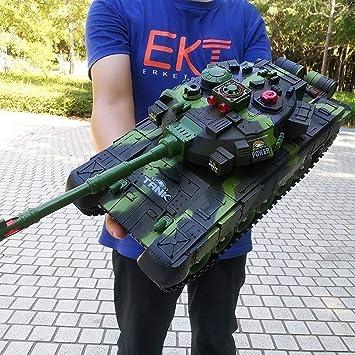 Radio Tanque de Batalla Principal Modelo Controlado Toy RC Tanque ...
