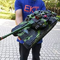 Radio Tanque de Batalla Principal Modelo Controlado Toy