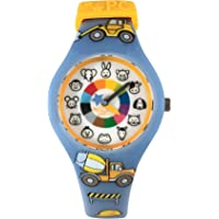 Preschool Watch - The Only Analog Kids Watch Preschoolers Understand! Quality Teaching/Learning Time Silicone Watch with…