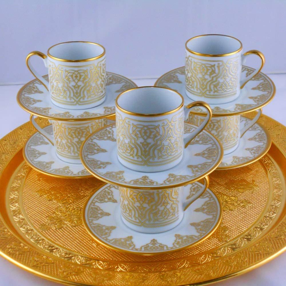 Kutahya Porcelain Hanedan Ottoman Coffee Set