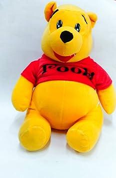 west feen Kids Quality Cute Pooh Soft Toy Winnie, 27cm (Multicolour)