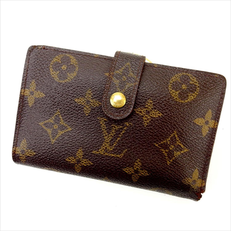 ルイヴィトン Louis Vuitton がま口財布 二つ折り ユニセックス ポルトモネ ビエヴィエノワ M61663 モノグラム 中古 人気 激安 Y1595 B0772Q1YG4