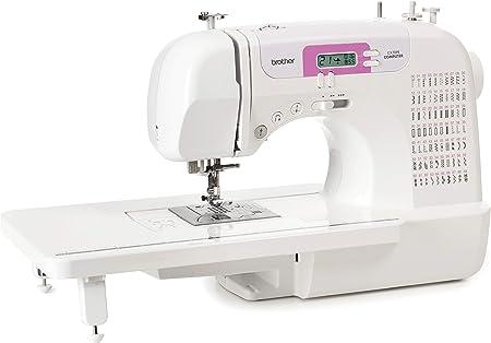 Brother CX70PE (Patchwork Edition) - Máquina de coser electrónica con 70 puntadas de costura (útiles, elásticas, decorativas), costura Automática, Display multifunción + Mesa Quilt & Patchwork: Amazon.es: Hogar