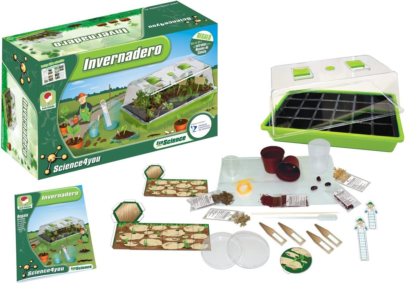 Science4You Ecological House Stelo Kit Scienza Giocattolo educativo Giocattolo