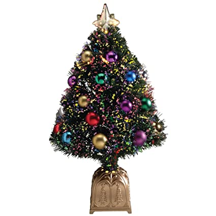 Amazon.com: Northwoods GreeneryTM Fiber Optic Holiday Tree, 32 Inch, Green:  Home & Kitchen - Amazon.com: Northwoods GreeneryTM Fiber Optic Holiday Tree, 32 Inch