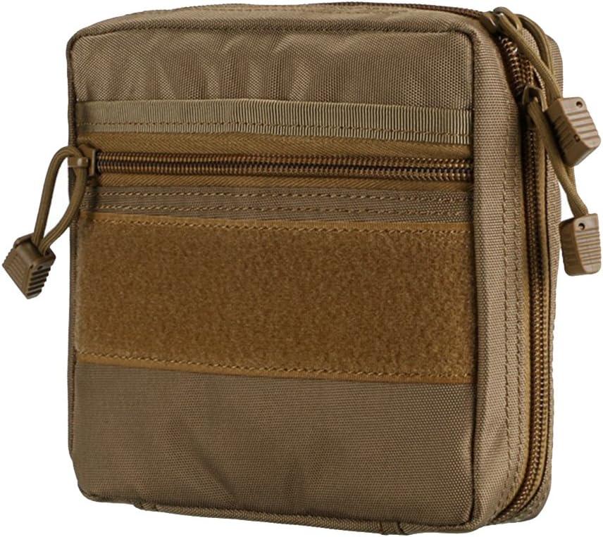 Shiningup Erste-Hilfe-Tasche Roomy Leere Kit-Tasche Medizinische Notfall-/Überlebens-Outdoor-Tasche