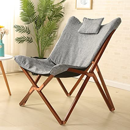 Amazon.com: ZAYTY XRXY Solid Wood Simple Folding Chair ...