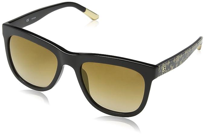 Escada SES348-gafas de sol Mujer Marrón Marrón (SHINY BLACK ...