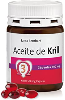 Aceite de Krill 500mg - 60 Cápsulas, 100% Neptune Krill Oil (NKO)