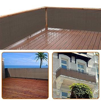 zimo balkon sichtschutz uv schutz blickdichte wetterbestandige balkonbespannung balkonverkleidung mit kabelbindern hdpe spezialgewebe 5