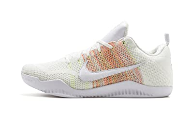 new concept 41f92 133a7 Amazon.com | Nike Kobe XI Elite Low 4KB 824463-199 White ...
