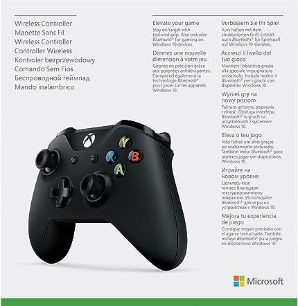 Amazon.com: Oficial Microsoft Xbox One Wireless Controller ...