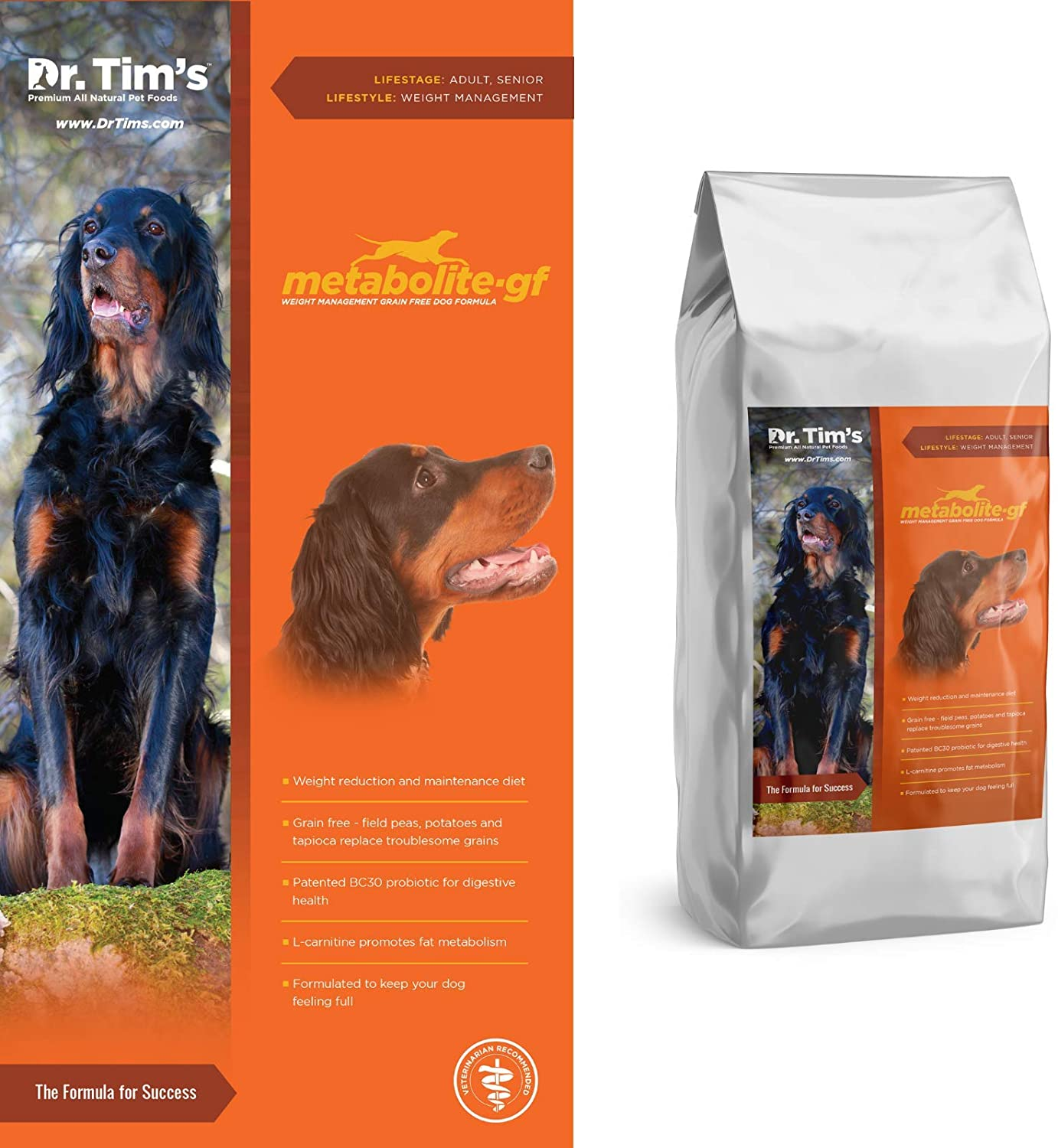 Dr. Tim's Grain Free Weight Management Metabolite Premium Dog Food