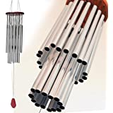 Great Sound Wind Chime for Patio, Garden, Terrace and Balcony - Beautiful Outdoor Decor NoiseMaker (27 tubes)