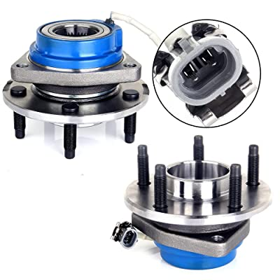 ECCPP Replacement for Premium Wheel Hub Bearing Assembly for 2000 2001 2002 2003 2004 Buick Century Lesabre Park Avenue Regal 5 Lug W/ABS 513121x2: Automotive